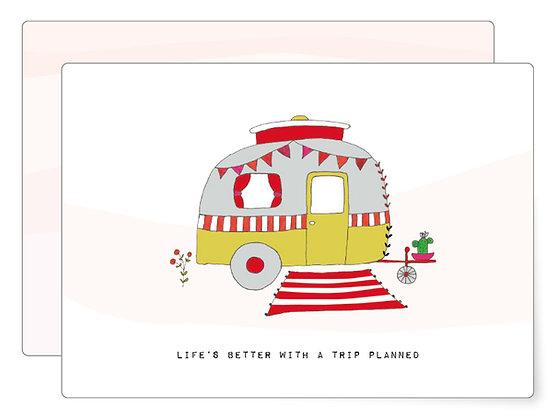 A trip to..?   Postkarte