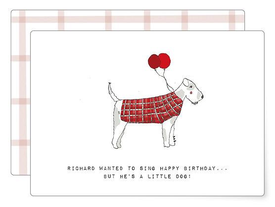 Birthday song | Postkarte