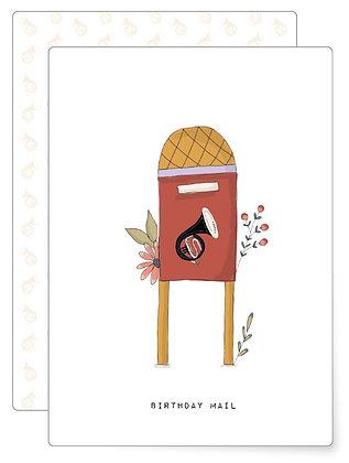 Postkasten | Postkarte