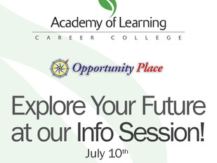 Academy of Learning - Info Session