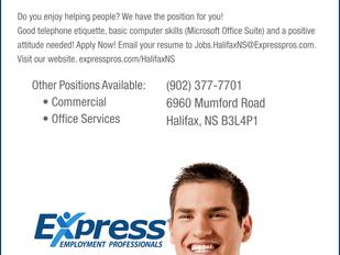Express Employment Professionals - Customer Service Reps