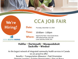 CBI Health Group - CCA Job Fair, December 13th