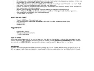 Integrated Staffing - Class 1 Short Haul Delivery Drivers