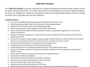 TEAM Services - A&E CAD Technician