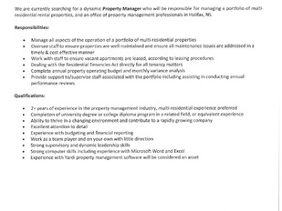 Killam Apartment Reit - Property Manager