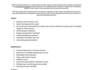 All Points Property Service - Landscape Construction