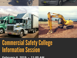Commercial Safety College - Information Session, February 6th