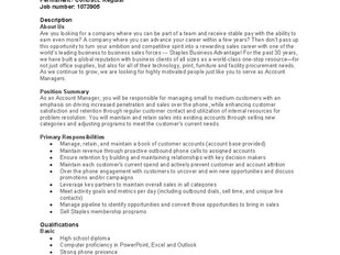 Staples (Lower Sackville) - Account Manager