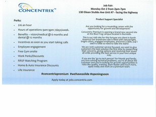 Concentrix - Job Fair