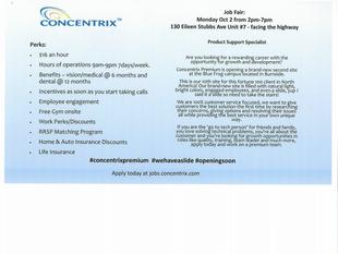 Concentrix - Job Fair