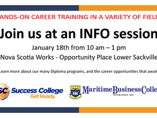 Success College / Maritime Business College Info Session