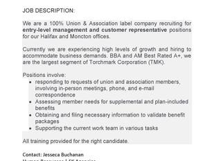 SK Agencies – Entry Level Management and Customer Representative