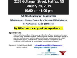 Fog Construction Job Fair - January 24th