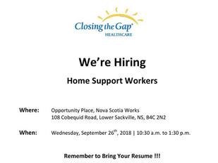 Closing the Gap Healthcare Job Fair