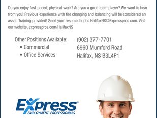 Express Employment Professionals - Tire Busters