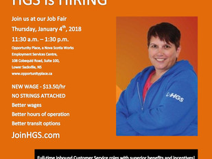 HGS Canada Job Fair