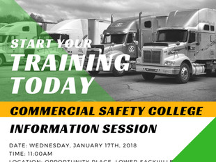 Commercial Safety College Info Session