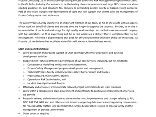 Prosaris - Junior Process Safety Engineer