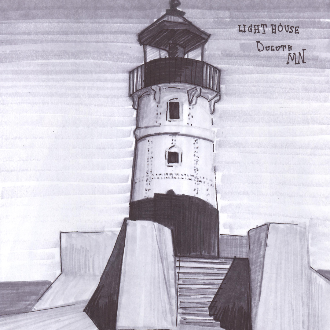Art Duluth Lighthouse