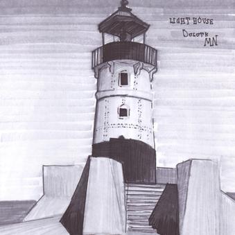 Art Duluth Lighthouse