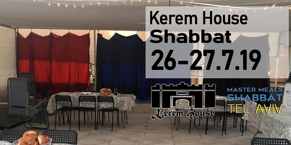 Kerem House Dinner 26.7