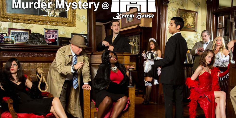 Murder Mystery at Kerem House 20.2.20