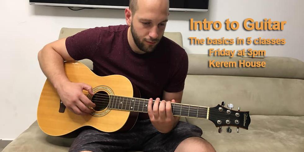 Intro to Guitar with Avigdor