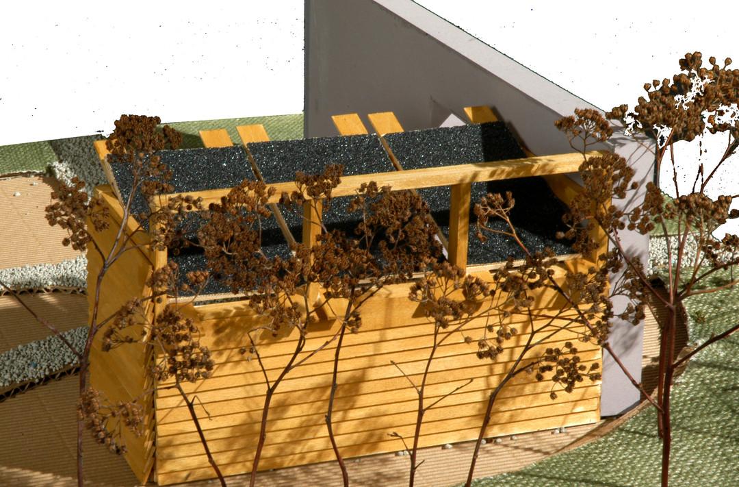 Architecture Pavilion Model View
