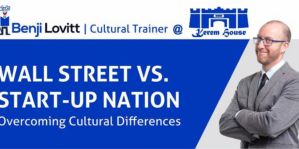 Overcoming Cultural Differences with Benji Lovitt 5.2.20