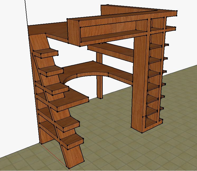 Furniture Loft Desk