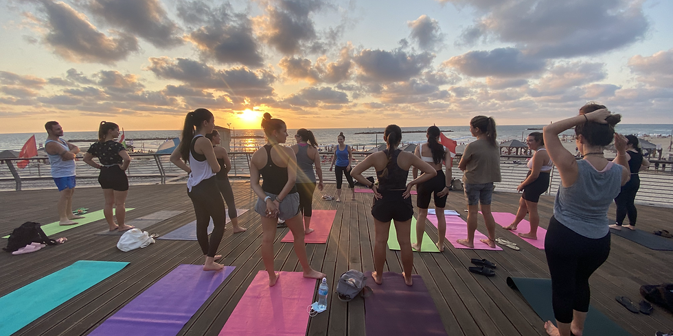 Beach Pilates 17.8.21