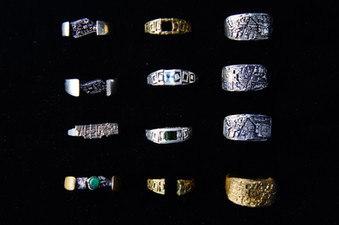 Jewelry Unique City Rings