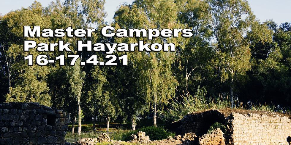 Master Campers Park Hayarkon 16.4.21