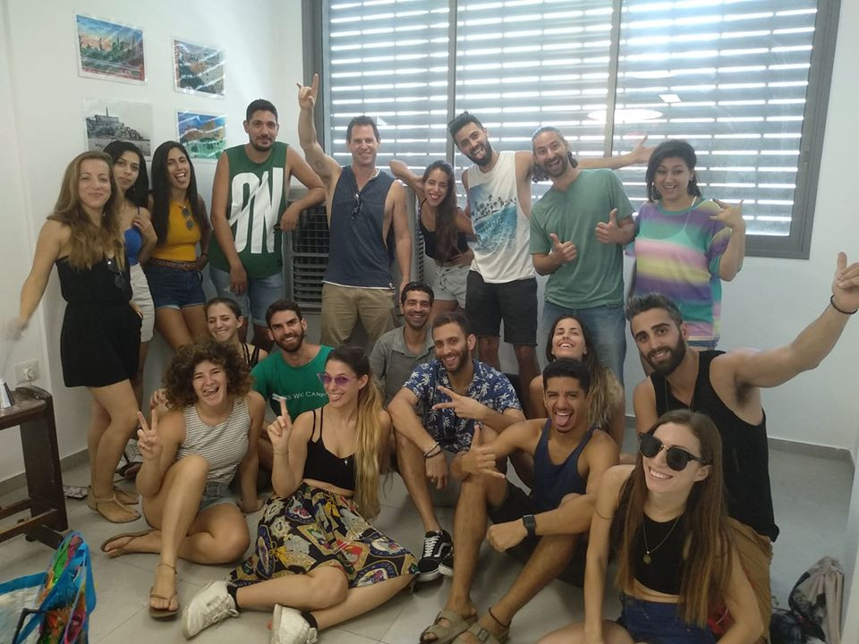 Kerem Challenge Camp Party