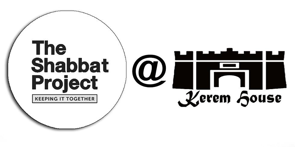 Shabbat Project at the Kerem House