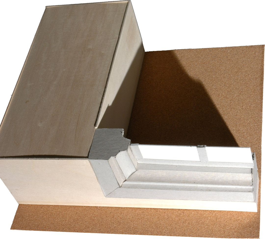 Architecture Window Detail Model