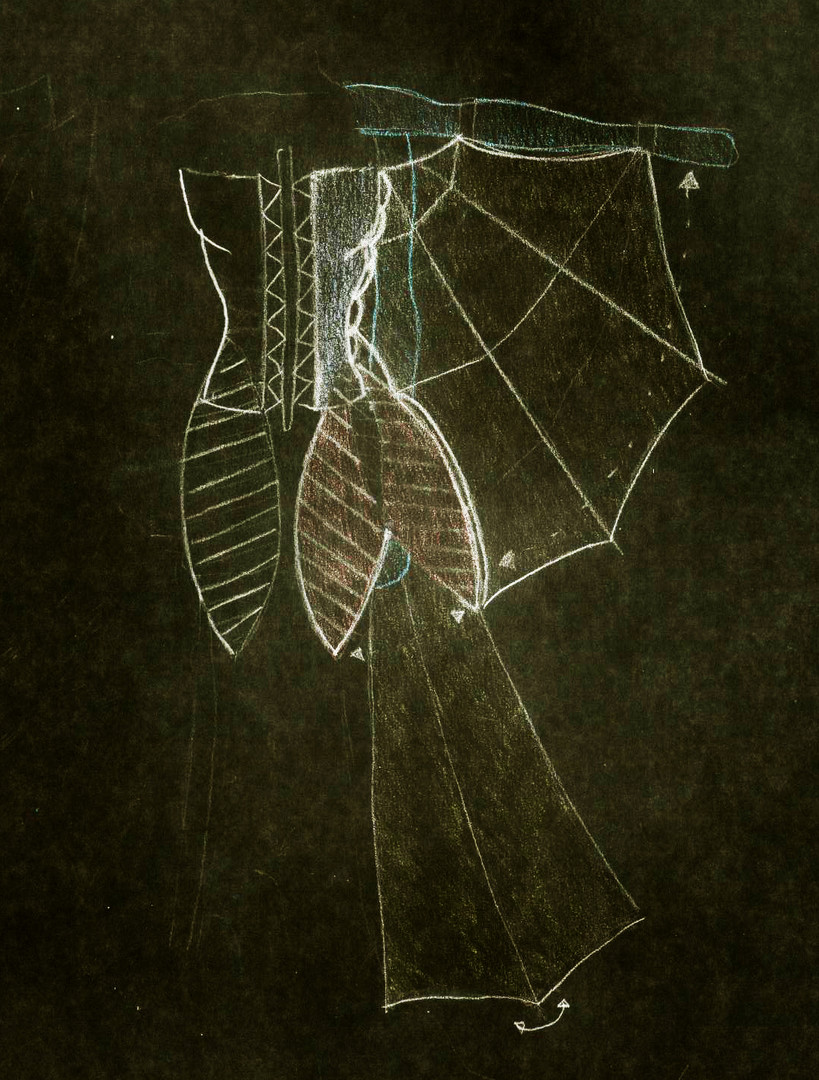 Fashion Wing Dress Concept