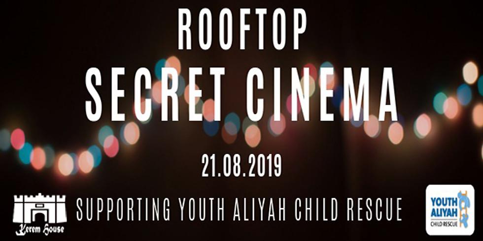 Secret Cinema for Youth Aliyah Child Rescue