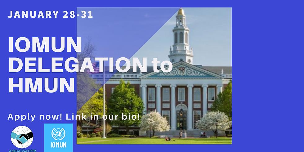 IOMUN Delegation to Harvard MUN 2021