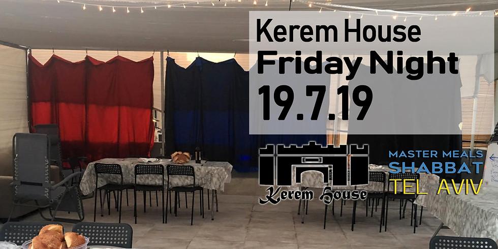 Kerem House Dinner 19.7.9