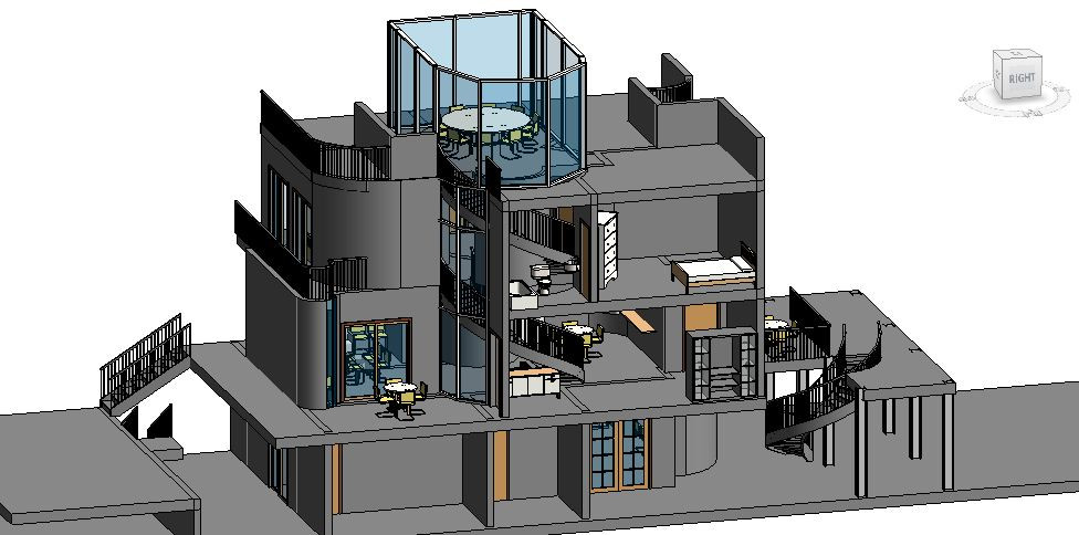 Architecture Row House 02