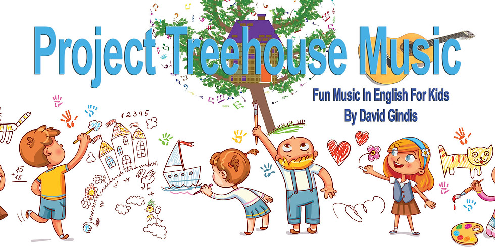 Project Treehouse - Music in English for Kids!