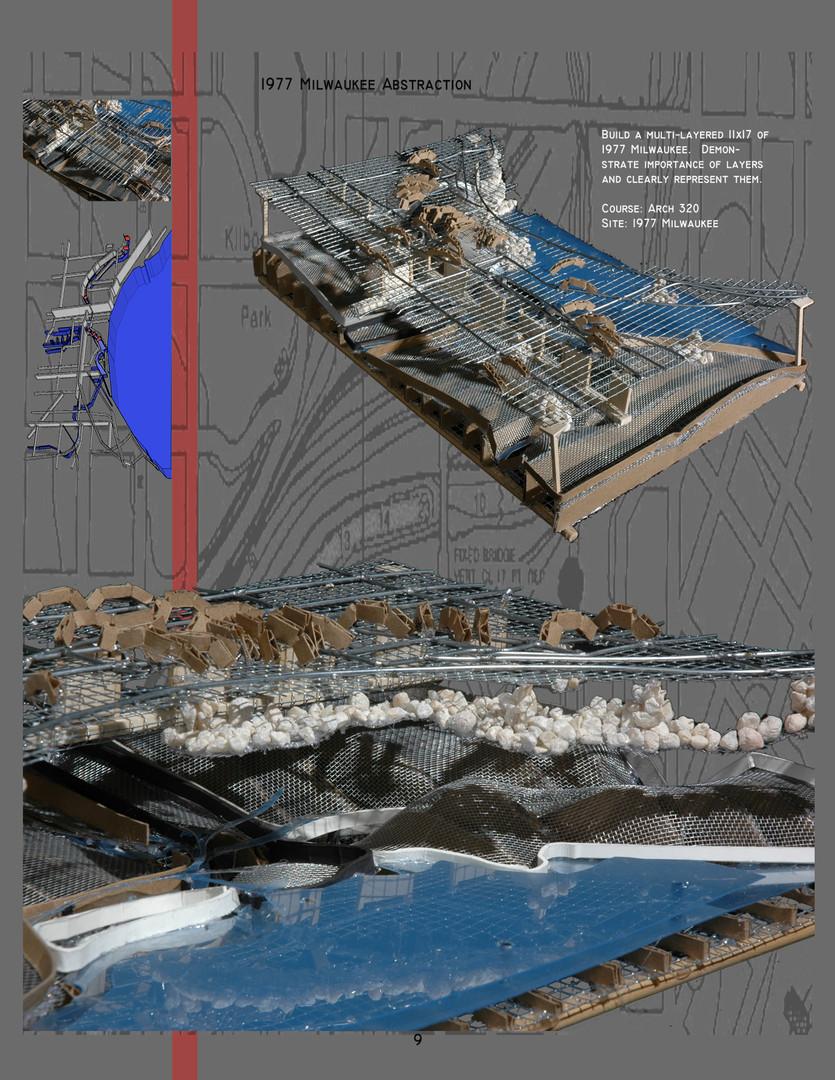 Urban Planning Layer Analysis Model