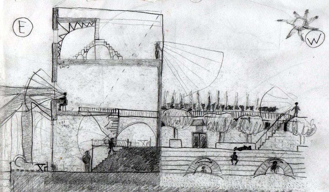 Concept Amphitheater Elevation