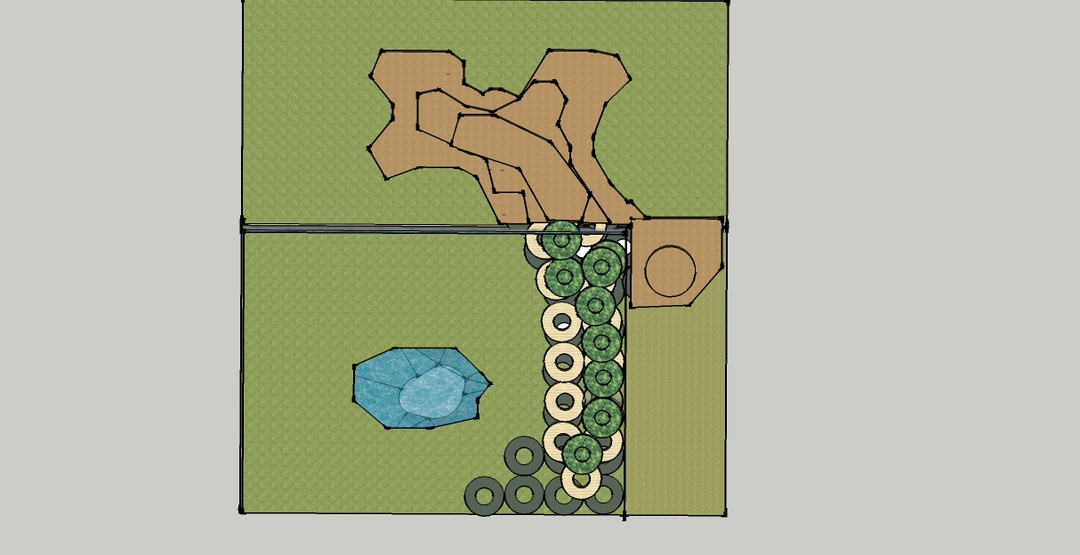 Landscape Goat Room Plan