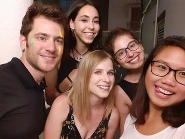 Kerem House Face Paint Party