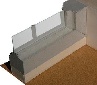 Architecture Window Model Detail