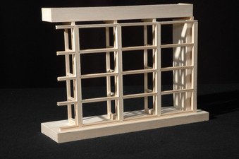 Architecture Curtain Wall Model Detail