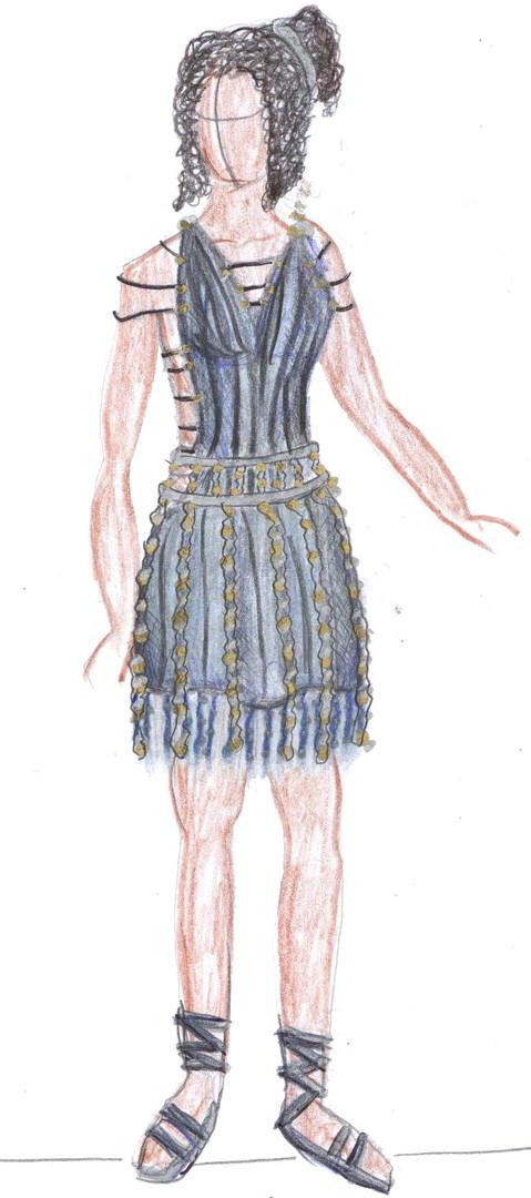 Fashion Toga Dress