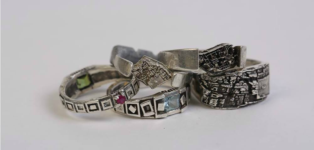 Jewelry City Architecture Rings